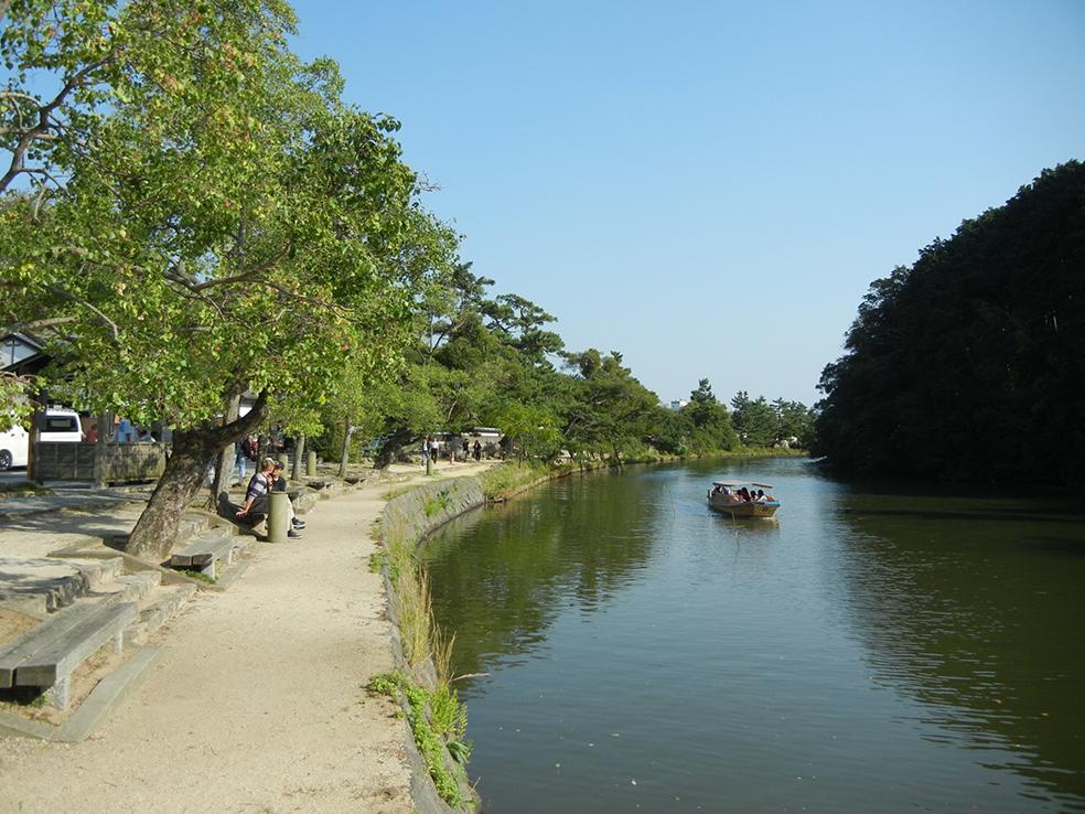 斐伊川水系松江堀川(北田川)