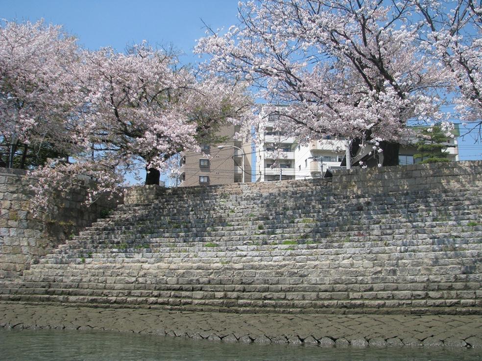 太田川水系旧太田川雁木