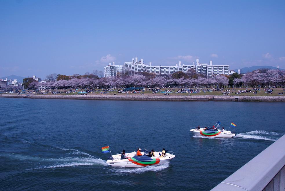太田川水系旧太田川 基町