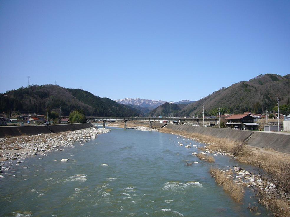 太田川水系太田川 上殿