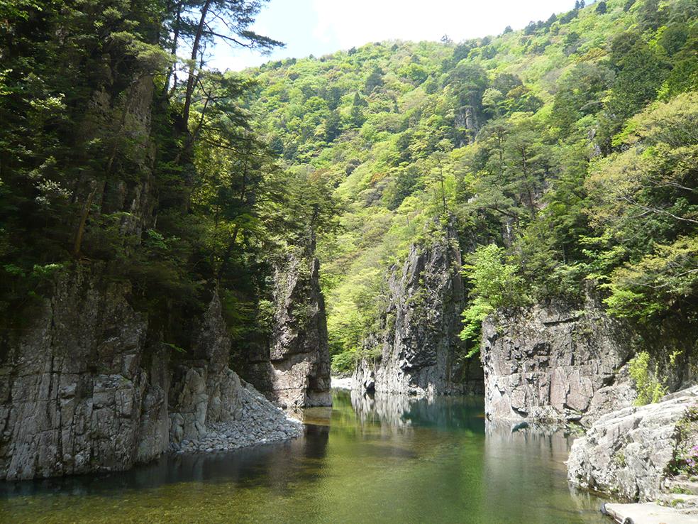 太田川水系柴木川 三段峡