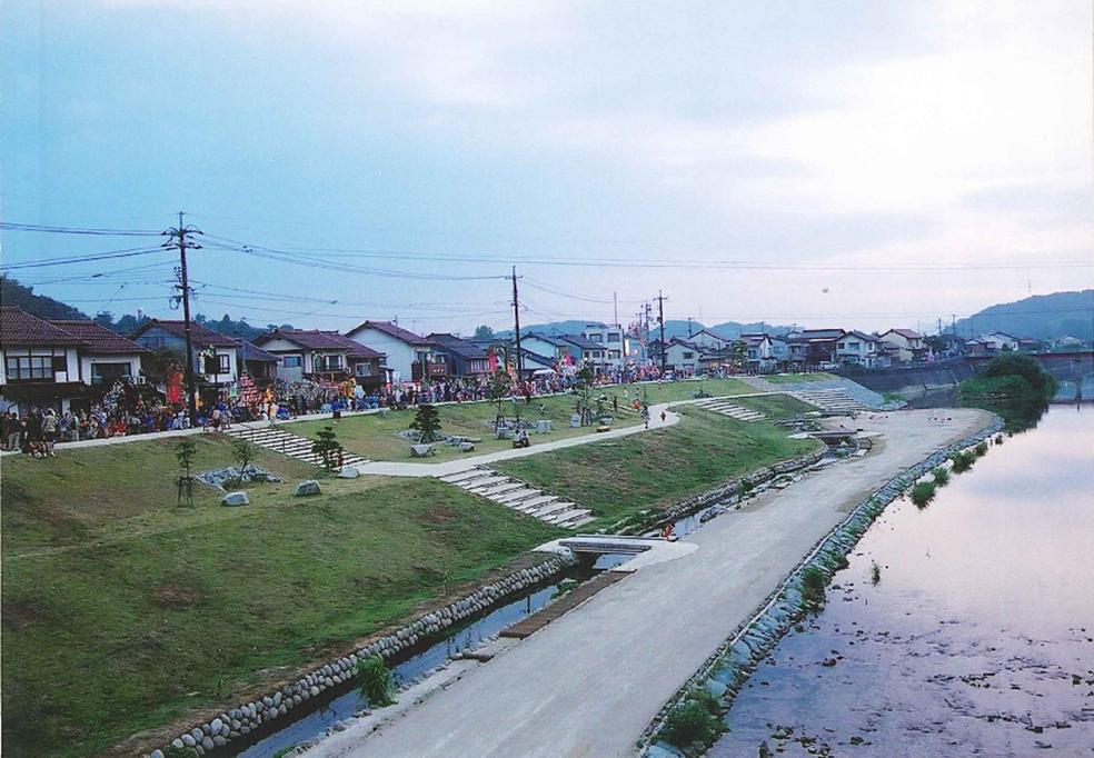 斐伊川水系赤川(雲南市)