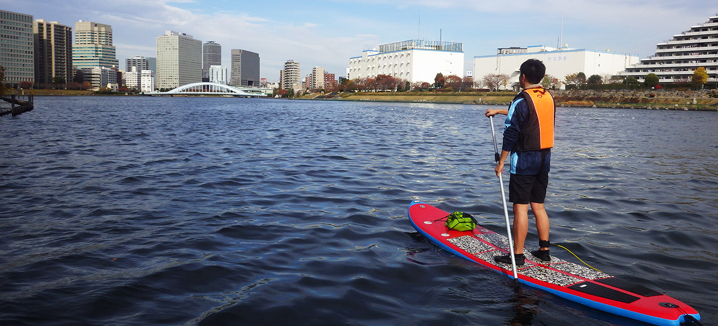 東京運河21km SUPツーリング