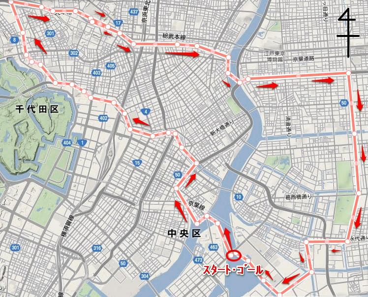01.東京運河SUP全図