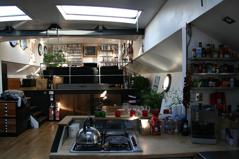 Rockの内部・キッチンリビング