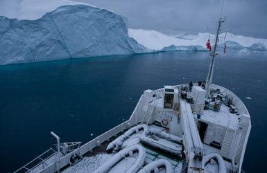 北極圏の水辺で地球の未来を考える