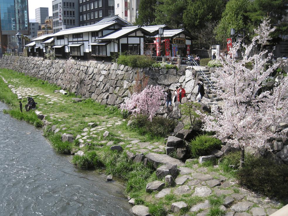 信濃川水系女鳥羽川