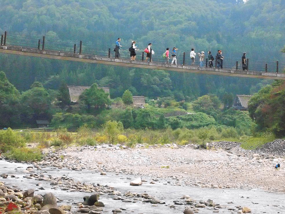 庄川水系庄川