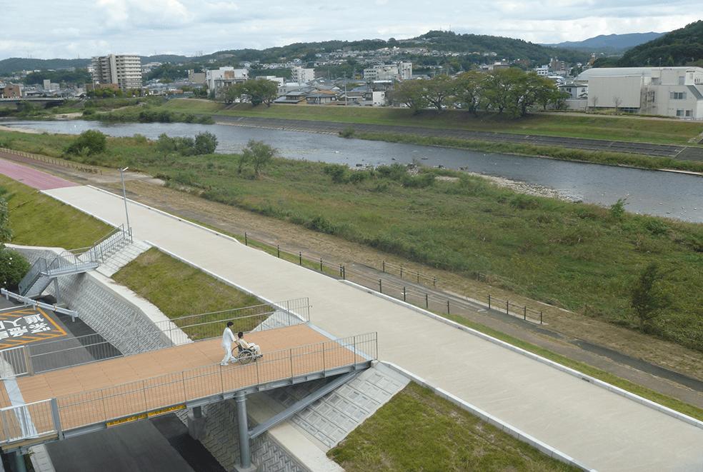 庄内川水系土岐川