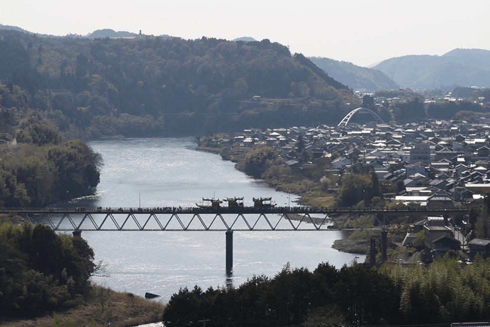 木曽川水系木曽川