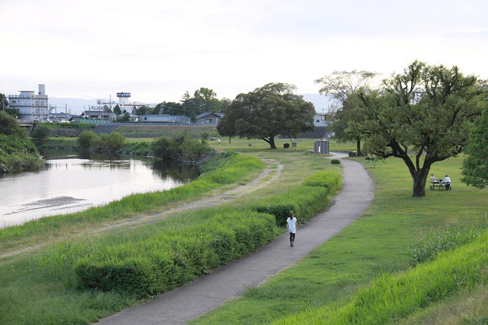 木曽川(長良川)水系境川