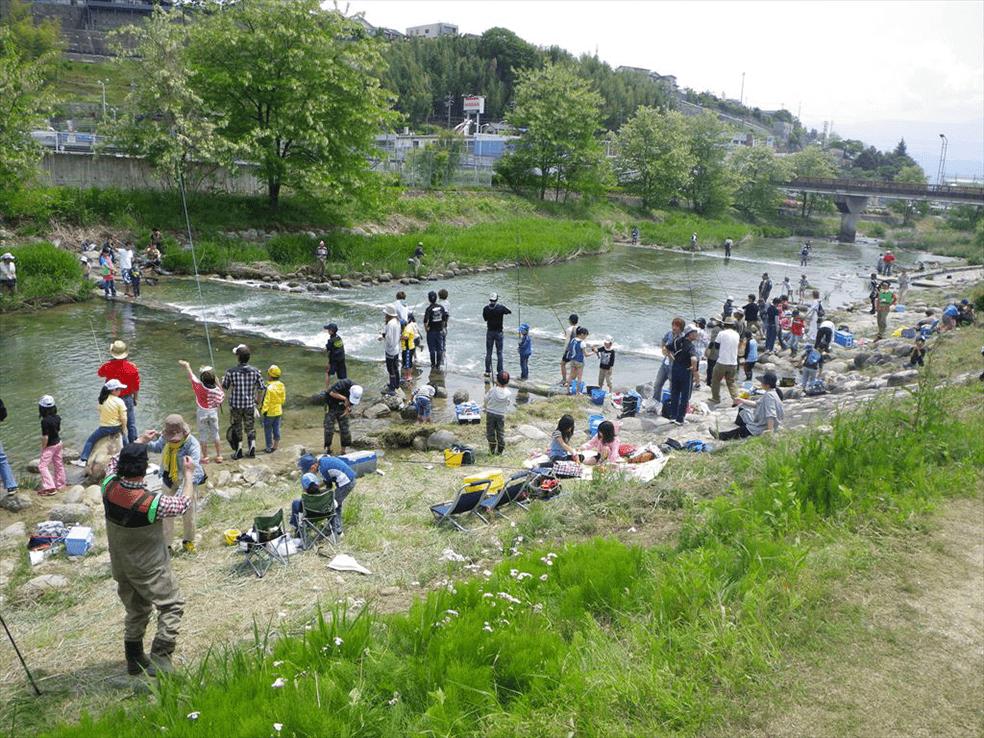 天竜川水系飯田松川