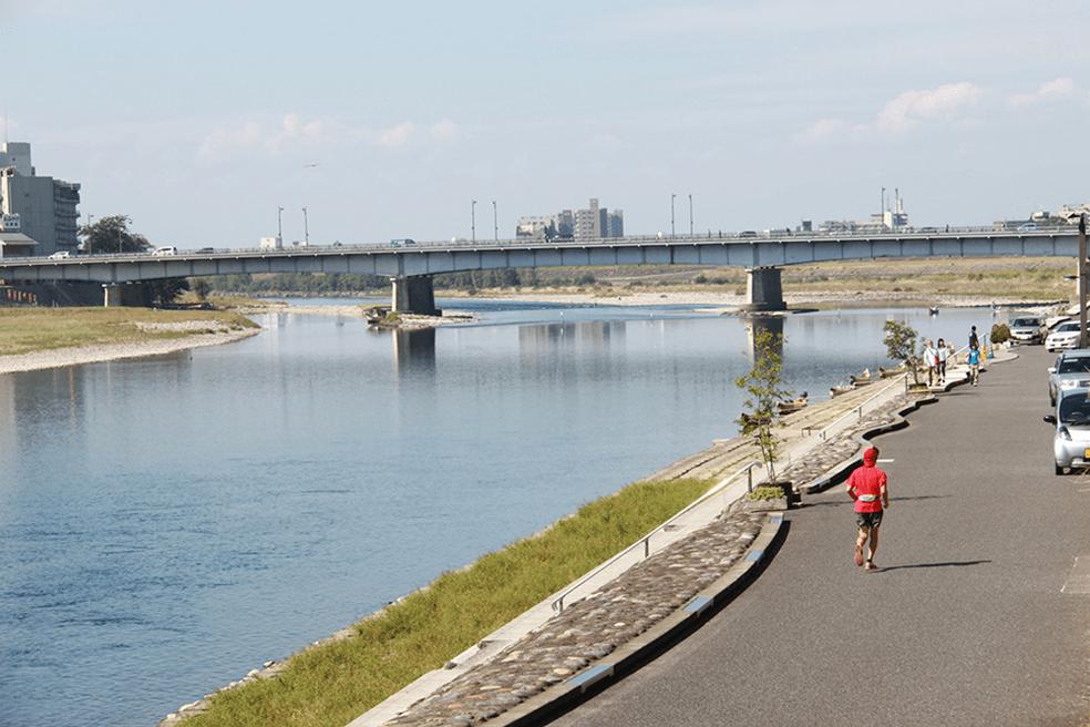 木曽川(長良川)水系長良川