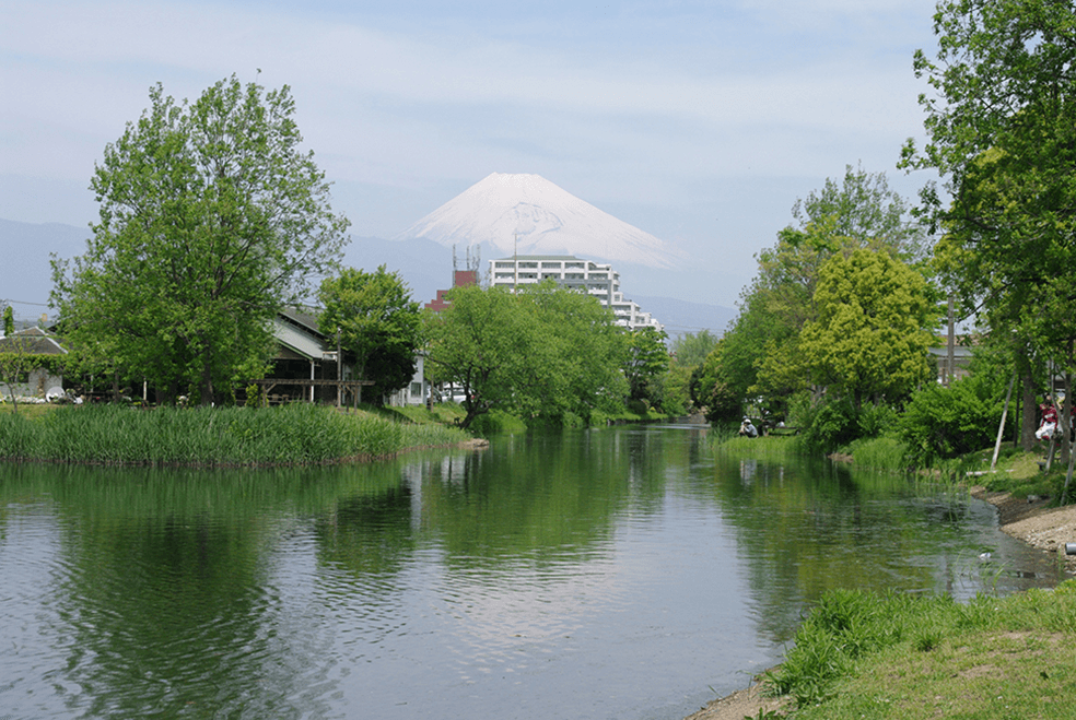 狩野川水系中郷温水池