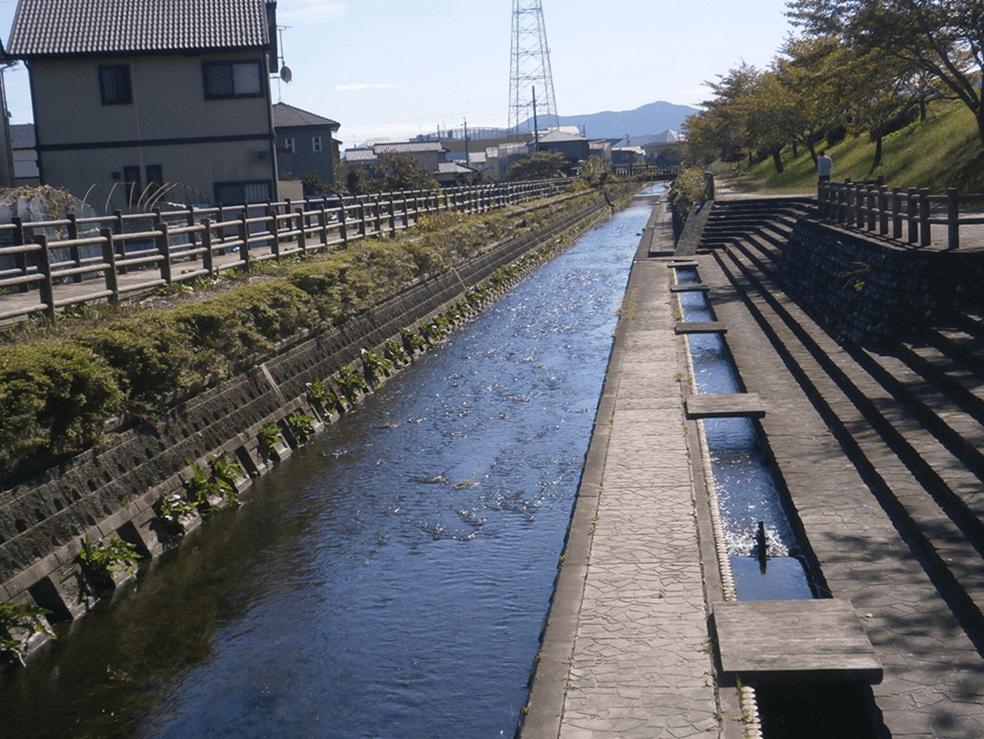 安倍川水系御用水川