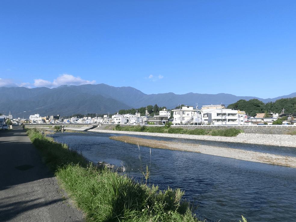 天竜川水系天竜川
