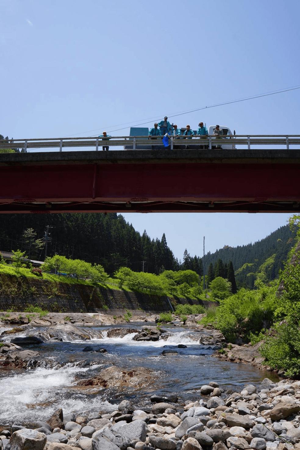 天竜川水系大入川