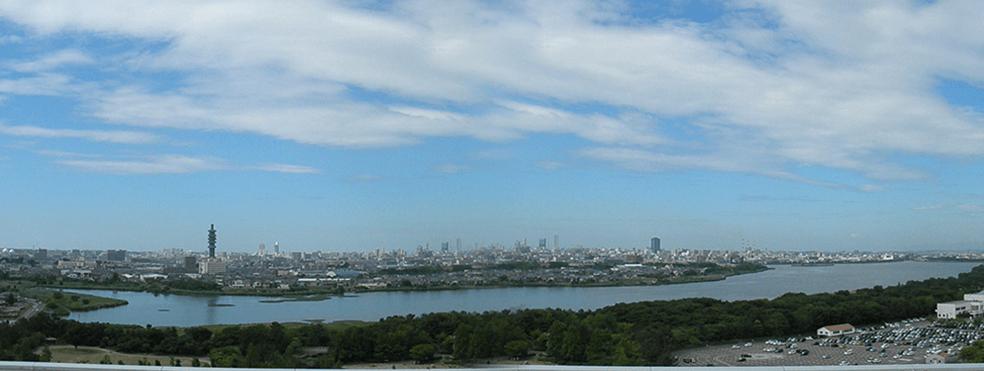 信濃川水系鳥屋野潟