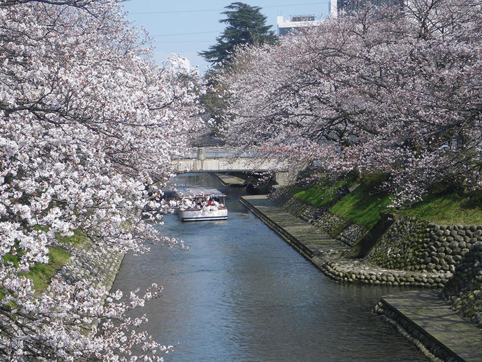 神通川水系松川