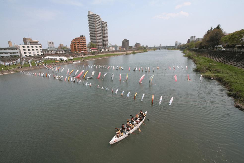 名取川水系広瀬川