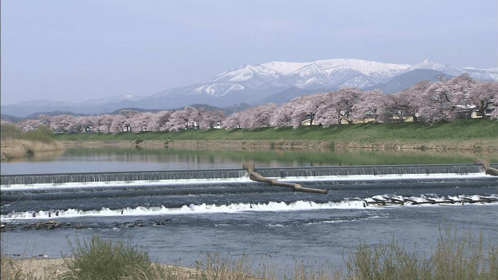 阿武隈川水系白石川