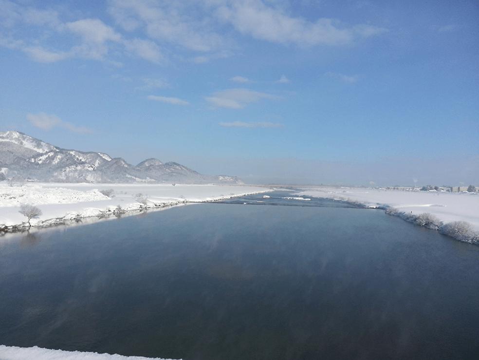 雄物川水系雄物川