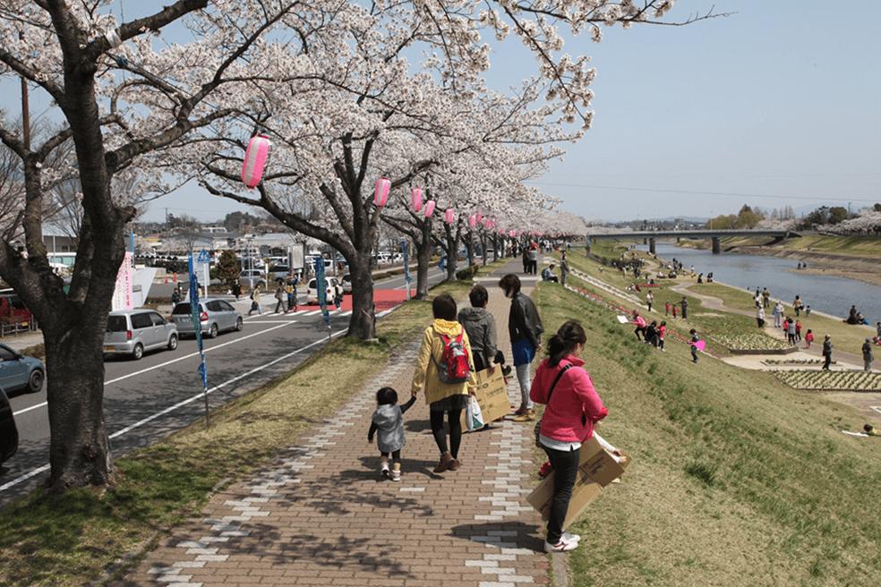 阿武隈川水系釈迦堂川