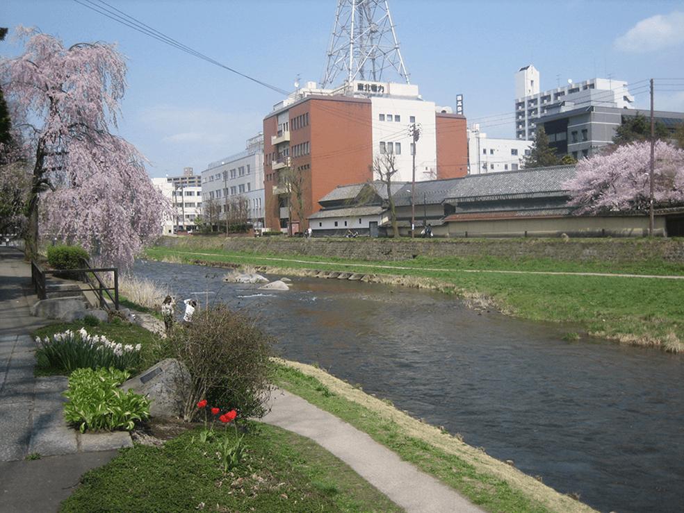 北上川水系中津川