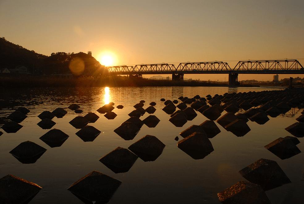 利根川水系渡良瀬川