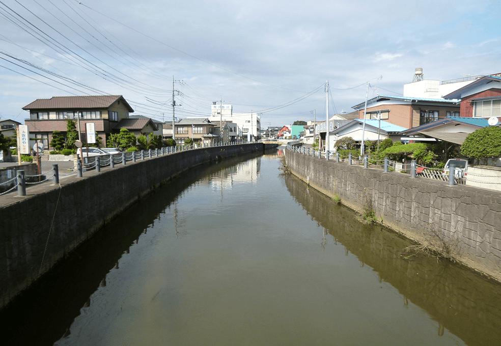 利根川水系鉾田川