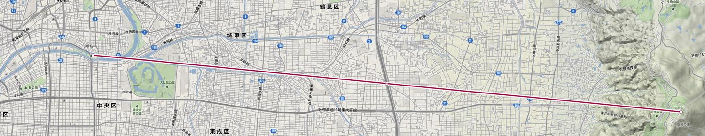 大阪の都市軸