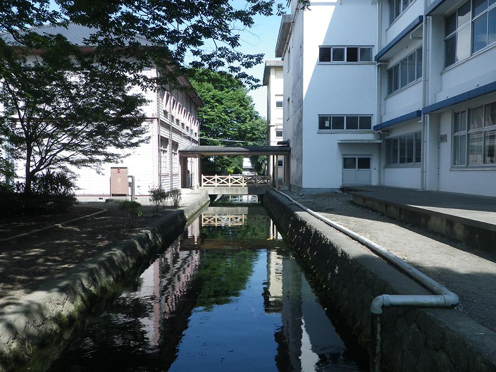 ⑦本館と県庁堀