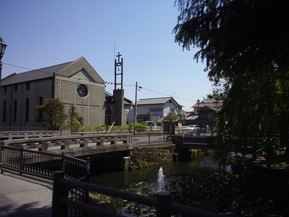 ⑨県庁堀から巴波川へ