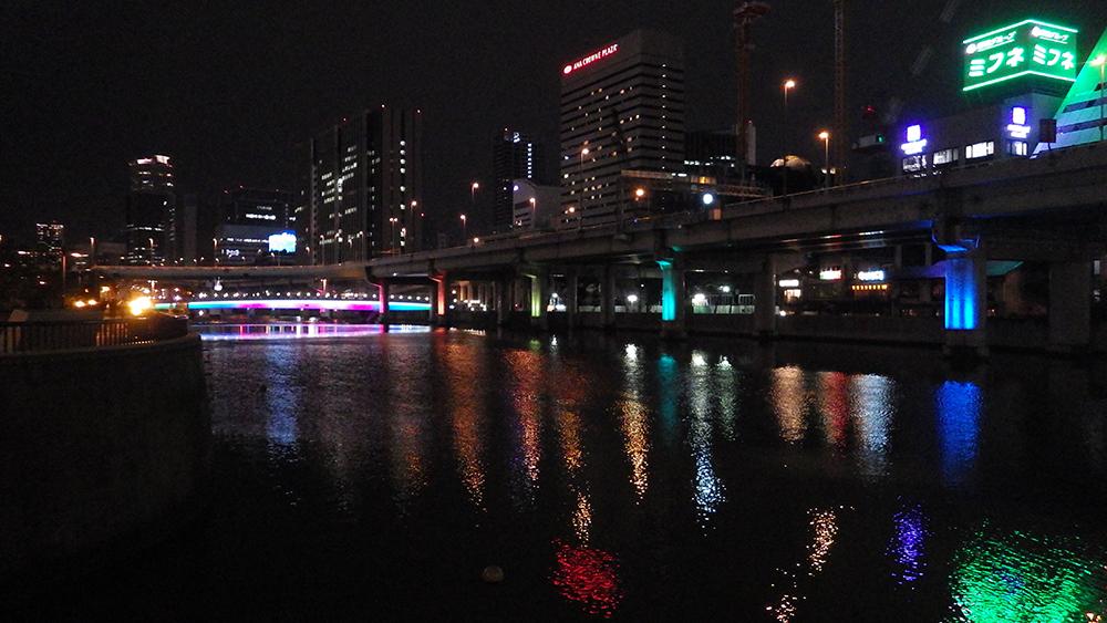 g.大阪の夜の橋