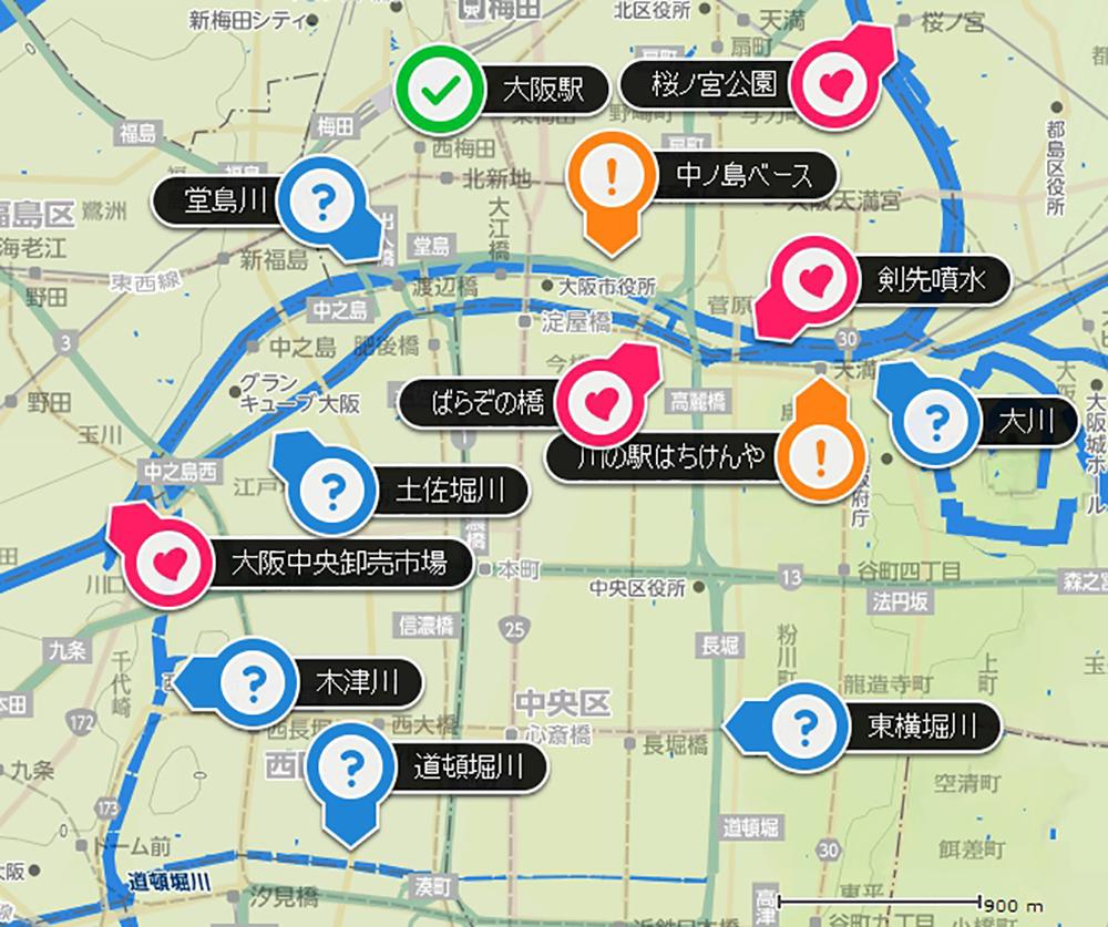 v.アクアスタジオ関連マップ
