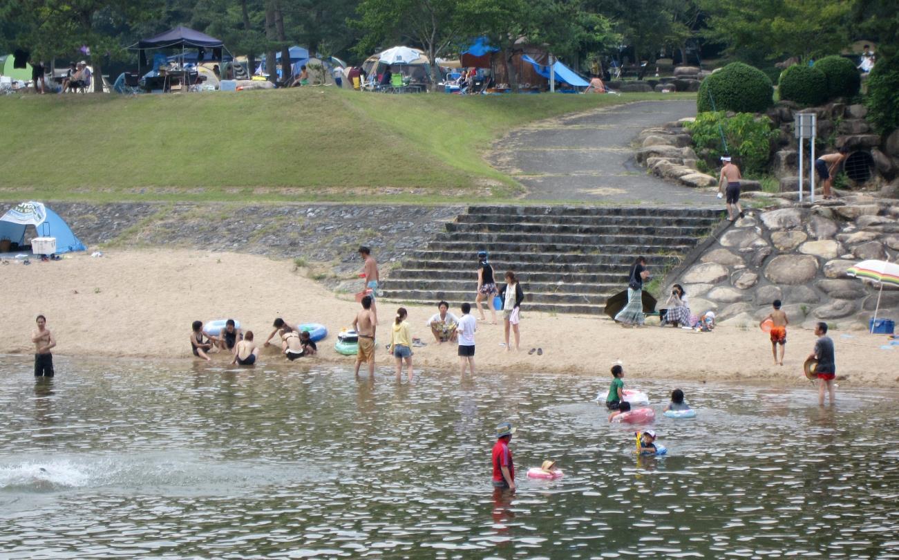 みんな集まれ、水遊び広場!~小瀬川