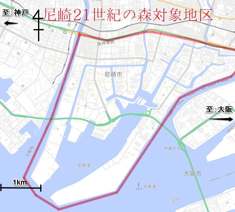 m.尼崎21世紀の森対象地区