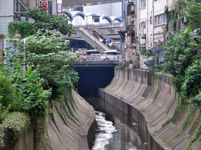 00_渋谷川暗渠出口