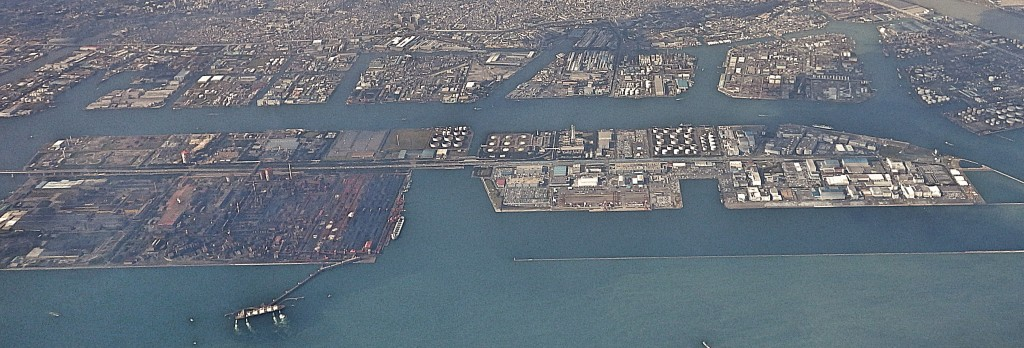 京浜運河鳥瞰