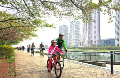東京の水辺を1291人が自転車でゆく!チャリティイベント「バイシクルライド2015イン東京」