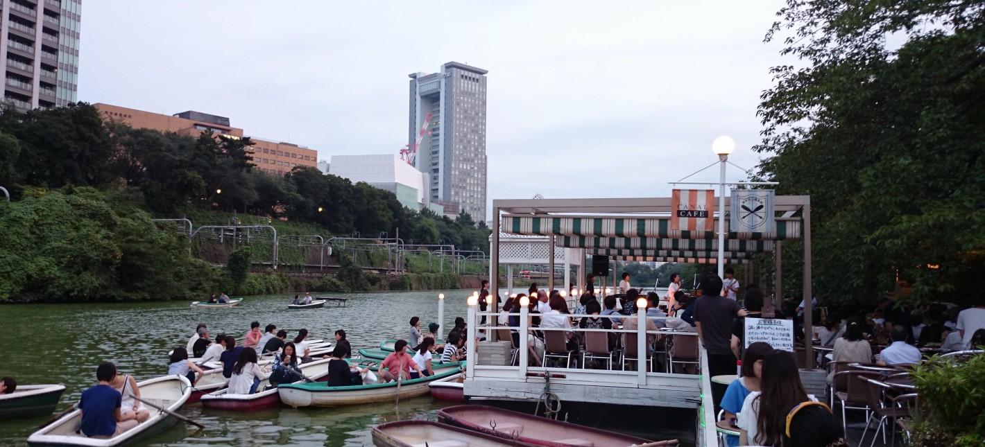 水辺都市東京で楽しむ水上の劇場空間 〜外濠水上コンサート「奏」レポート