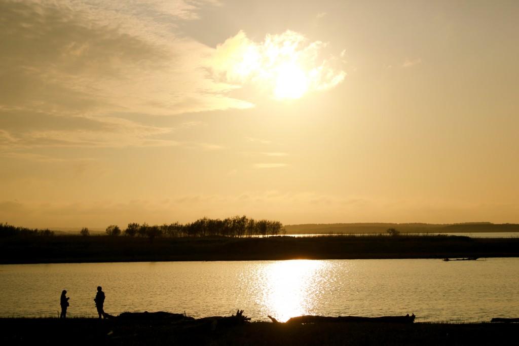 写真7:秋の川