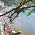 伊豆大島の名港へカヤックツーリング