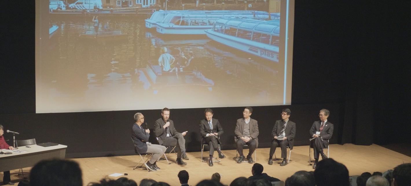ロボット船が描く東京イーストベイエリアの水辺の未来