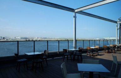 羽田空港を望む多摩川河口に 川沿いの遊びと仕事の拠点、「The WAREHOUSE」誕生