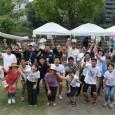 いいだしっぺはアメリカから来たバーテンダー!熊本市白川沿いのオープンスペース「緑の区間」で白川フェス開催