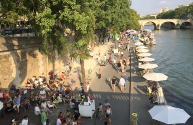 パリの水辺。オシャレすぎる公共空間の使い方。海外視察レポート