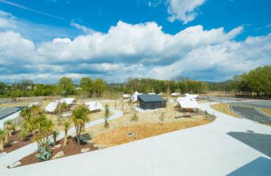 デザインが水辺の公園を変える 岐阜県美濃加茂市 「RIVER PORT PARK MINOKAMO」に行ってきた。(前編)