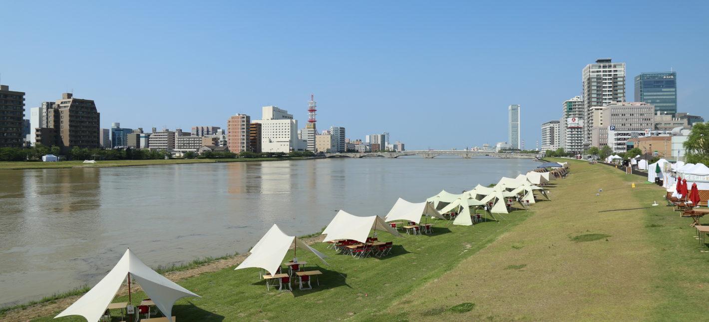 オープンスペースビジネス最前線「ミズベリング信濃川やすらぎ堤」の3年間の実績